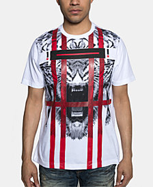 Sean John Men's Tiger Stripes T-Shirt