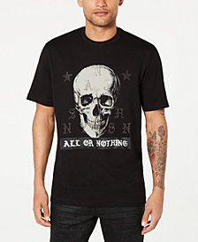 Sean John Men's All Or Nothing Skull Graphic T-Shirt