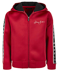 Sean John Big Boys Scuba Zip-Front Hoodie