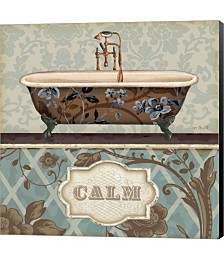 Bathroom Bliss II by Daphne Brissonnet Canvas Art