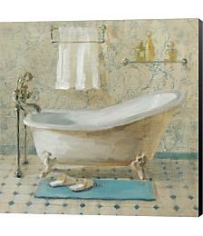 Victorian Bath III by Lisa Petty Canvas Art