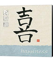 Happiness by Wild Apple Portfolio Canvas Art