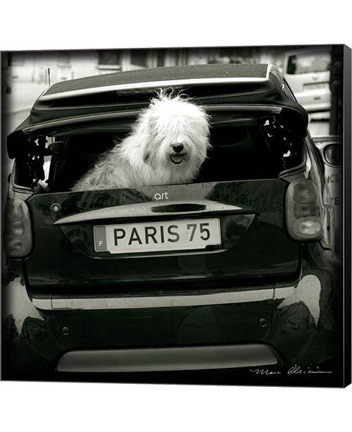 Metaverse Paris Dog I by Marc Olivier Canvas Art