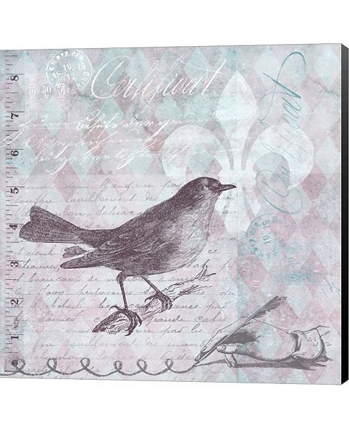Metaverse Vintage Bird 33 by Andrea Haase Canvas Art