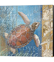 Turtle and Sea by Art Licensing Studio Canvas Art