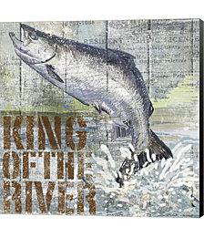 Open Season King Salmon by Art Licensing Studio Canvas Art