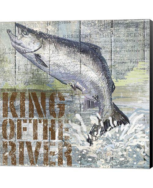 Metaverse Open Season King Salmon by Art Licensing Studio Canvas Art