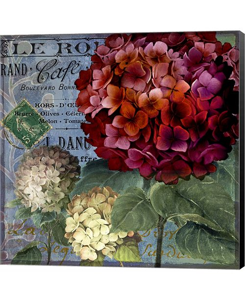 Metaverse Rouge From the Garden I by Art Licensing Studio Canvas Art