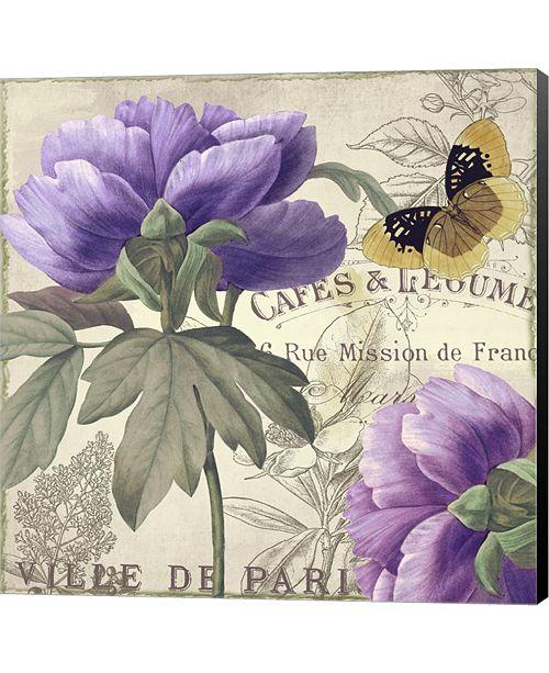 Metaverse Petals of Paris IV by Color Bakery Canvas Art