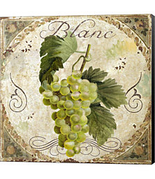 Tuscany Table Blanc by Color Bakery Canvas Art
