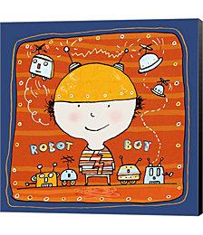 Robot Boy 2 by Carla Martell Canvas Art