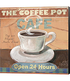 Coffee Pot by Fiona Stokes-Gilbert Canvas Art