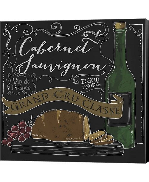 Metaverse Wine Chalkboard II by Fiona Stokes-Gilbert Canvas Art