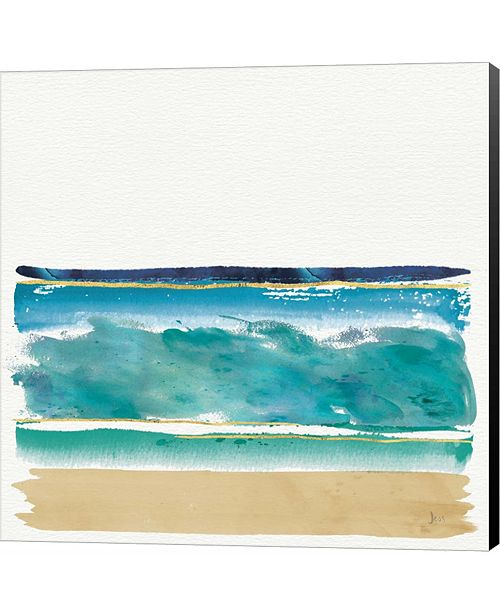 Metaverse By the Sea II by Sue Schlabach Canvas Art
