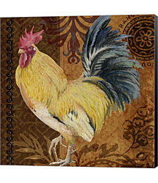 Belle Rooster II by Barbara Simmons Canvas Art