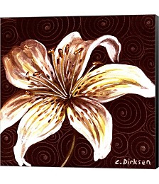 Tiger Lily 2 by Cherie Roe Dirksen Canvas Art