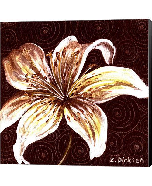Metaverse Tiger Lily 2 by Cherie Roe Dirksen Canvas Art