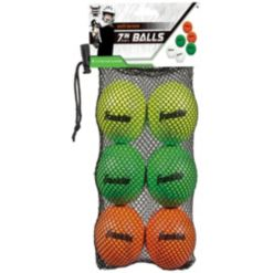 Franklin Sports Youth Lacrosse Balls - 6 Pack