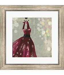Fuschia Dress II by Aimee Wilson Framed Art
