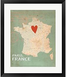 Paris by Katie Doucette Framed Art