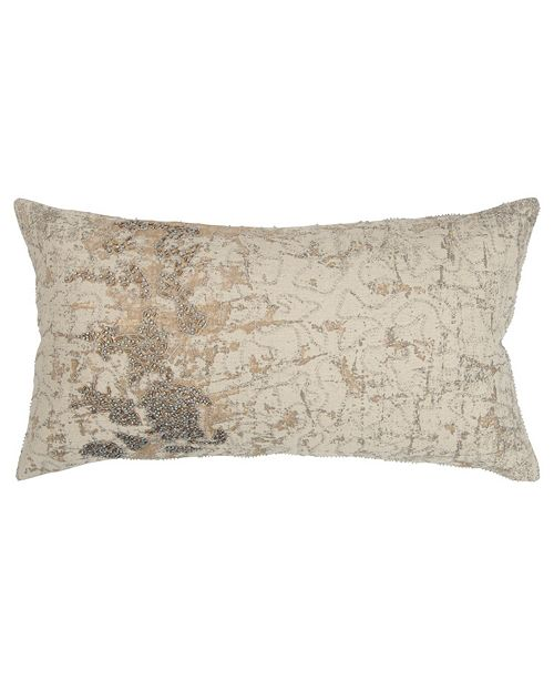 "Rizzy Home 14"" x 26"" Abstract Design Pillow Collection"