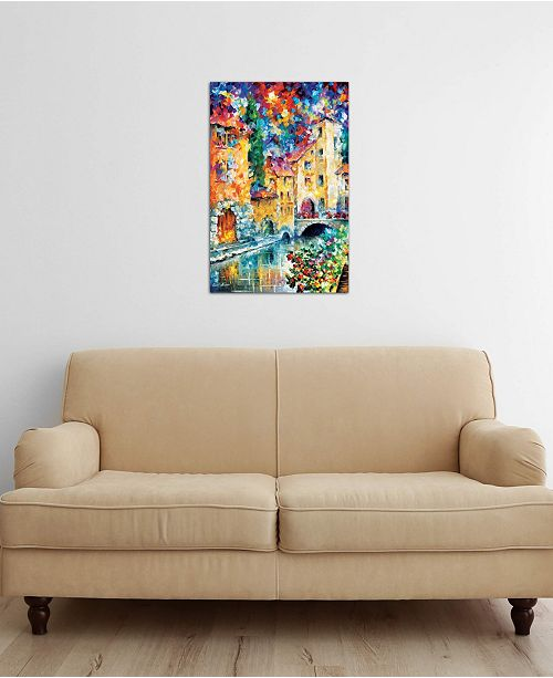 "iCanvas ""The Window To The Past"" by Leonid Afremov Gallery-Wrapped Canvas Print"