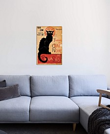"""""""Tournee du Chat Noir Advertising Vintage Poster"""" Gallery-Wrapped Canvas Print"""