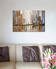 """""""Streets I"""" by Osnat Tzadok Gallery-Wrapped Canvas Print"""