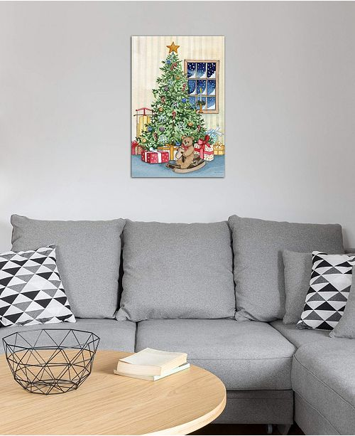 """iCanvas """"Night Before Christmas III"""" by Kathleen Parr McKenna Gallery-Wrapped Canvas Print (26 x 18 x 0.75)"""