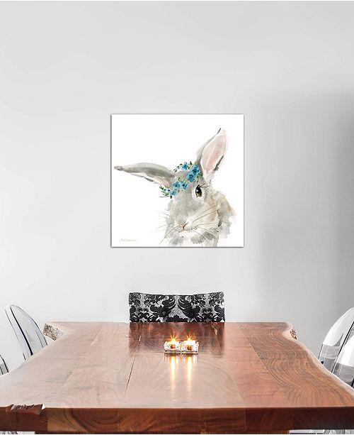 "iCanvas ""Glamour Girls: Rabbit"" by Carol Robinson Gallery-Wrapped Canvas Print (18 x 18 x 0.75)"