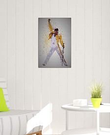 "iCanvas ""Freddie Mercury"" by TM Creative Design Gallery-Wrapped Canvas Print (26 x 18 x 0.75)"