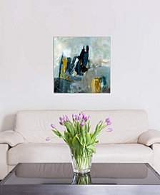 """iCanvas """"Short Stories"""" by Julian Spencer Gallery-Wrapped Canvas Print (26 x 26 x 0.75)"""