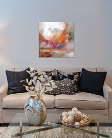 "iCanvas ""Colour Burst"" by J.A Art Gallery-Wrapped Canvas Print (26 x 26 x 0.75)"