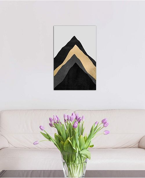 """iCanvas """"Four Mountains"""" by Elisabeth Fredriksson Gallery-Wrapped Canvas Print (26 x 18 x 0.75)"""
