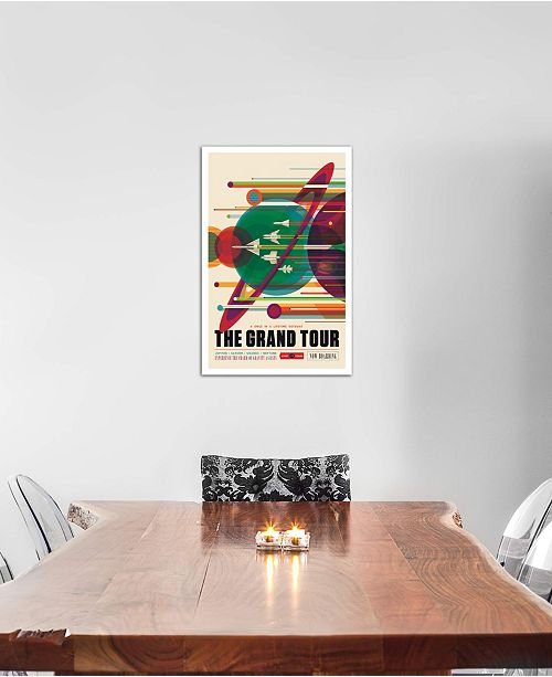 """iCanvas """"The Grand Tour"""" by NASA Gallery-Wrapped Canvas Print (26 x 18 x 0.75)"""