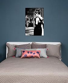 "iCanvas ""Audrey Hepburn Window Shopping I"" by Radio Days Gallery-Wrapped Canvas Print (40 x 26 x 0.75)"
