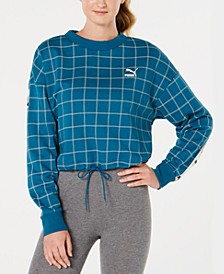 Revolt Cropped Sweatshirt