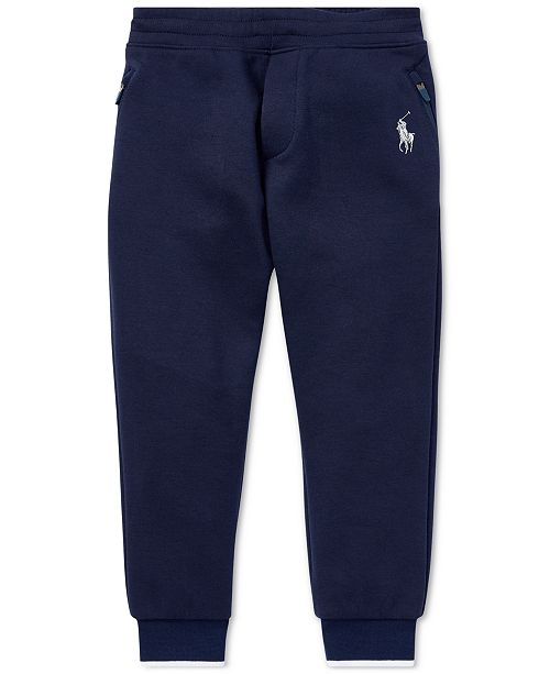 2e25848b6 Polo Ralph Lauren Toddler Boys Double-Knit Joggers   Reviews ...