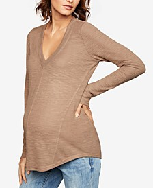Maternity V-Neck Top