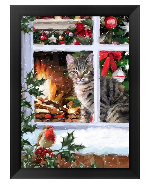 Metaverse Tabby Cat 2 by The Macneil Studio Framed Art