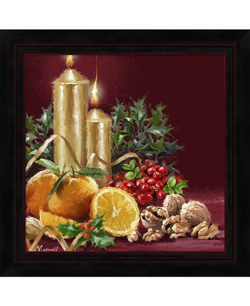Metaverse Oranges And Cranberries by The Macneil Studio Framed Art