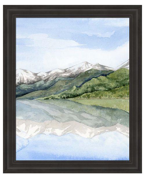 Metaverse Mirror Lake II by Grace Popp Framed Art