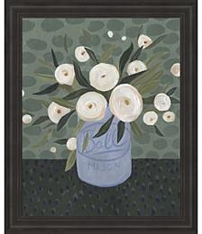 Mason Jar Bouquet III by Emma Scarvey Framed Art