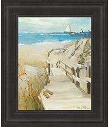 Coastal Escape by Marilyn Hageman Framed Art