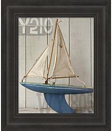 Sailboat I by Symposium Design Framed Art