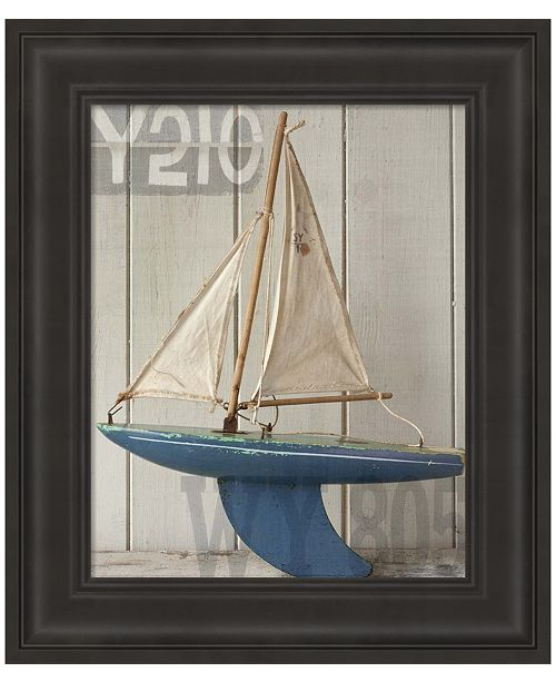 Metaverse Sailboat I by Symposium Design Framed Art