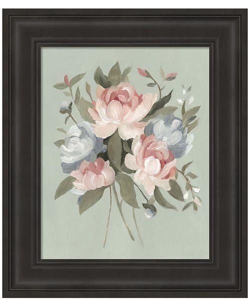 Metaverse Pastel Bouquet I by Emma Scarvey Framed Art