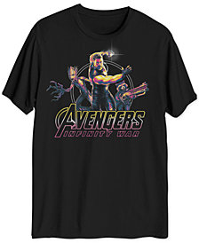 Thor Avengers Men's Big & Tall Graphic T-Shirt