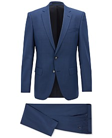 BOSS Men's Slim-Fit Virgin Wool Melange Suit