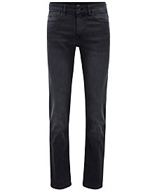 BOSS Men's Slim-Fit Super-Stretch Denim Jeans